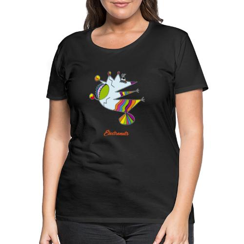 Electronuts - T-shirt Premium Femme