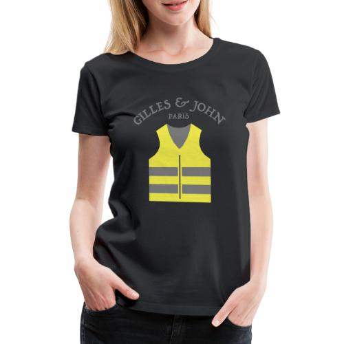 Gilles & John - Paris - T-shirt Premium Femme