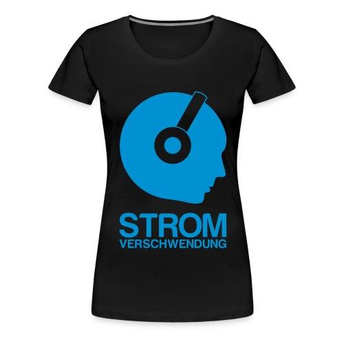 shirtvorlage1 transparent white - Frauen Premium T-Shirt