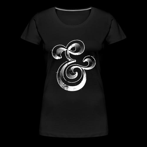 Esperluette - T-shirt Premium Femme