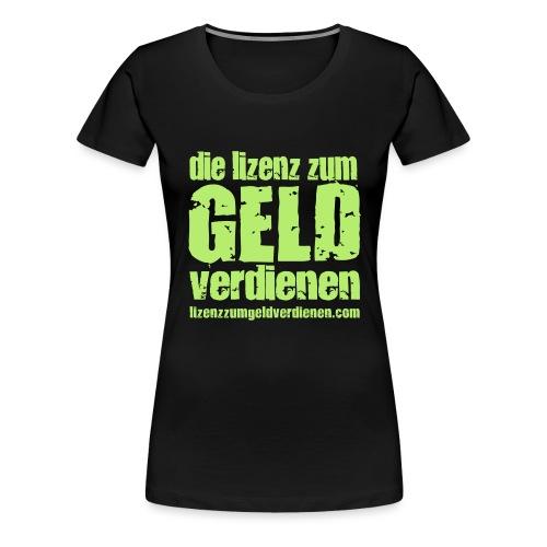 dlzgv_2 - Frauen Premium T-Shirt
