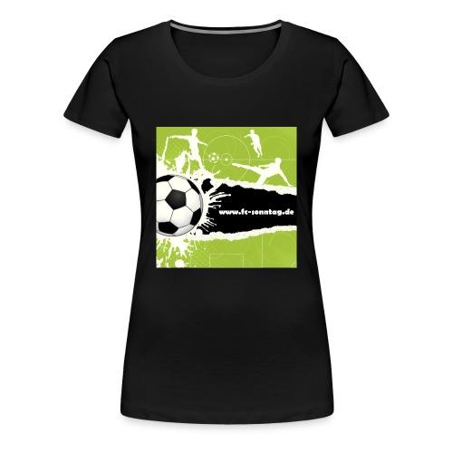 FC Sonntag Weblogo - Frauen Premium T-Shirt