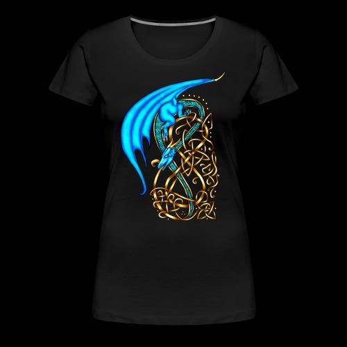 Celtic Dragon - Women's Premium T-Shirt