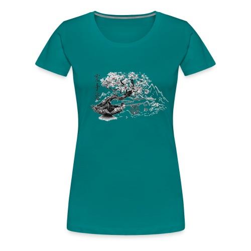 TempleSHITO transp GIF - T-shirt Premium Femme