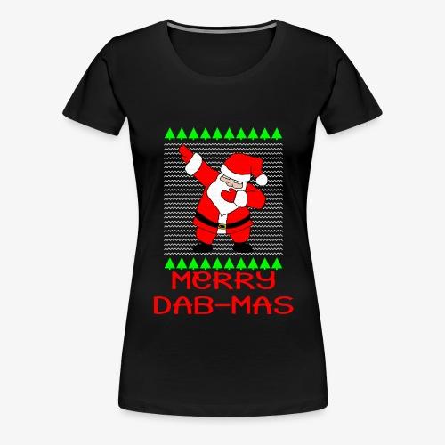 Merry Dab-Mas Ugly Xmas - Frauen Premium T-Shirt