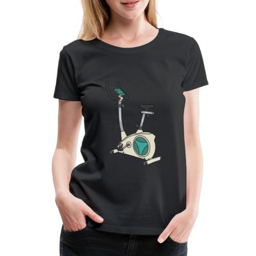 Heimtrainer Trimmdich-Rad - Frauen Premium T-Shirt