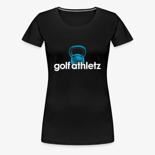 GOLF ATHLETZ - Kettlebell Trainings Sport Motiv - Frauen Premium T-Shirt