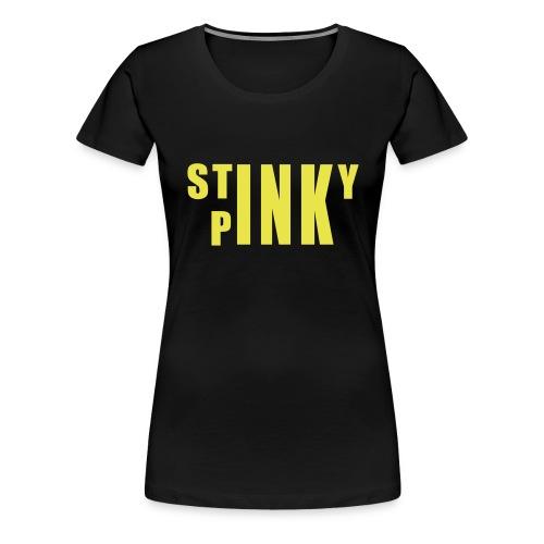 stinky_yellow_newsvg - Women's Premium T-Shirt