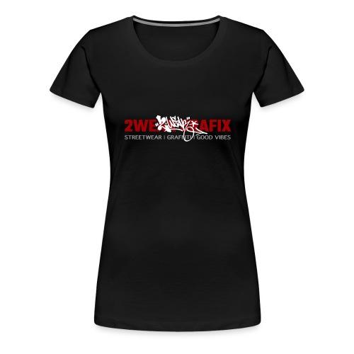2wear grafix box logo - Dame premium T-shirt