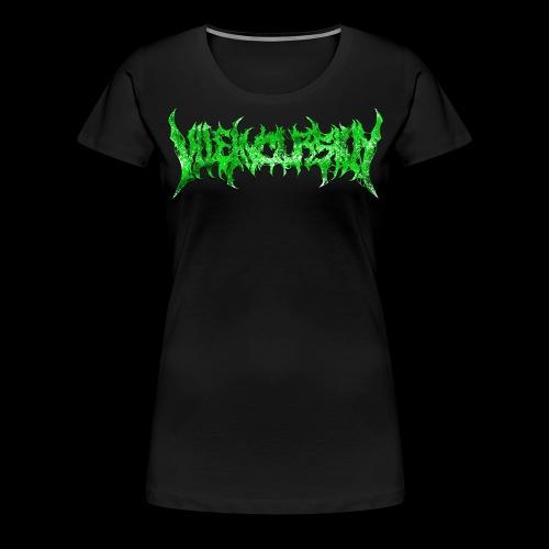 Multiprint Green - Premium-T-shirt dam