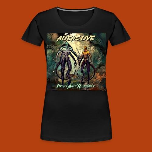 aliens live - T-shirt Premium Femme
