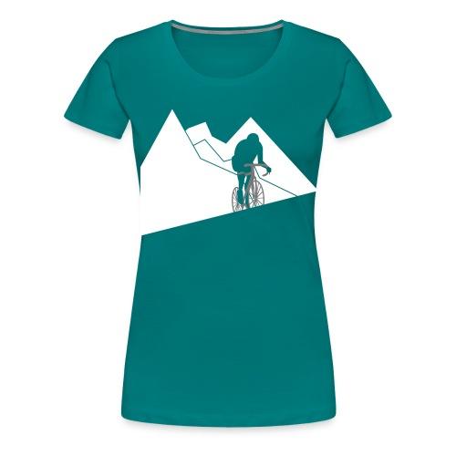 Kletterer - Frauen Premium T-Shirt