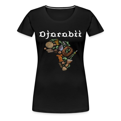 Djarabii afrique - T-shirt Premium Femme