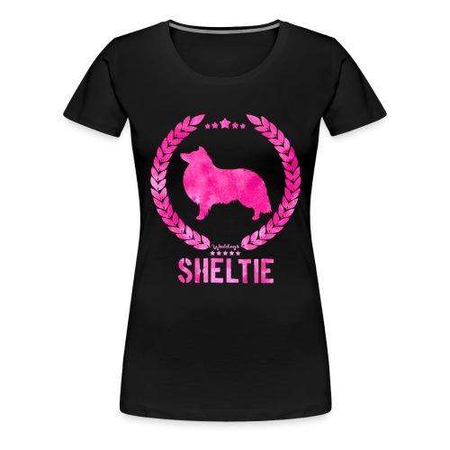 sheltiearmy - Women's Premium T-Shirt
