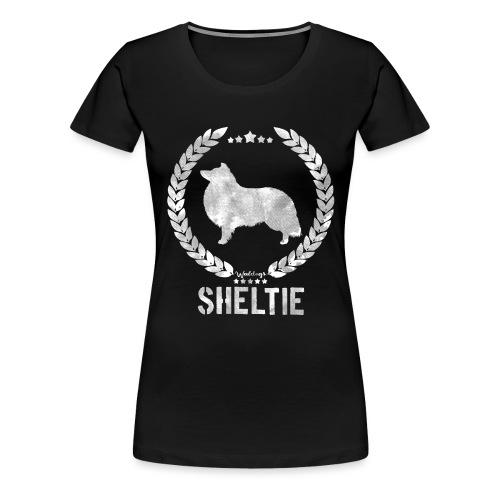 sheltiearmy3 - Women's Premium T-Shirt