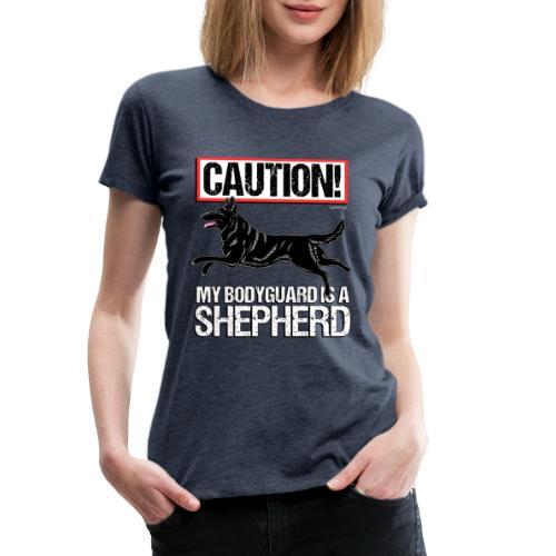 GSD Bodyguard German - Naisten premium t-paita