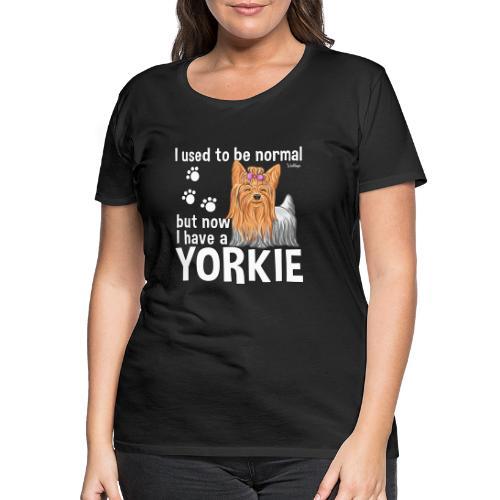 Yorkie Normal - Naisten premium t-paita