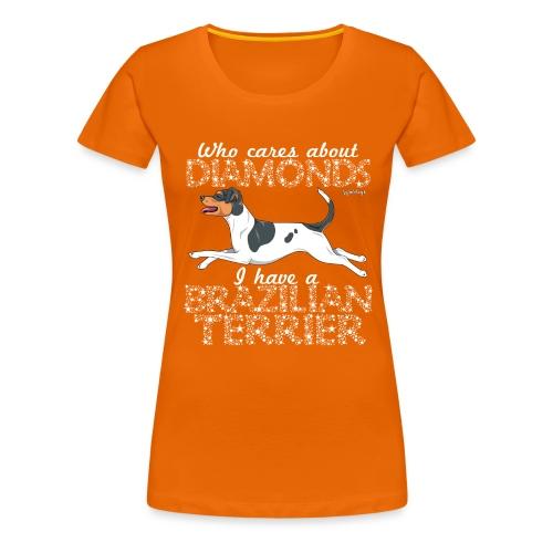 braziliandiamonds6 - Women's Premium T-Shirt