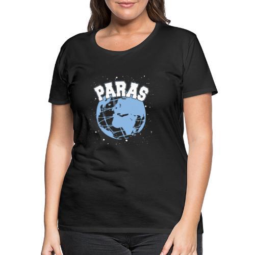 Maailman Paras Sininen - Naisten premium t-paita