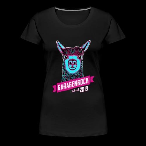 Vorderseite Garagenrock19 - Frauen Premium T-Shirt