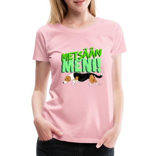 Dreeveri Metsään II - Naisten premium t-paita