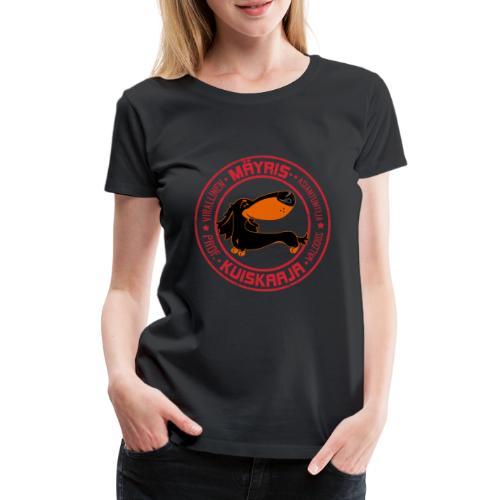 Mäyriskuiskaaja V - Naisten premium t-paita