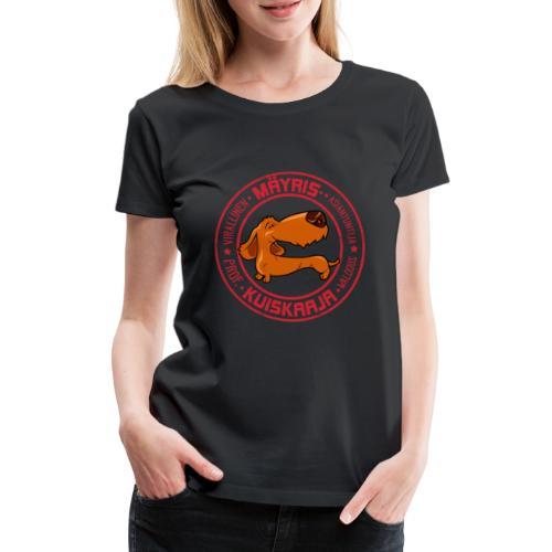 Mäyriskuiskaaja II - Naisten premium t-paita