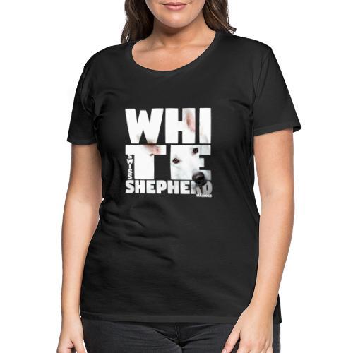 NASSU White Shepherd - Naisten premium t-paita