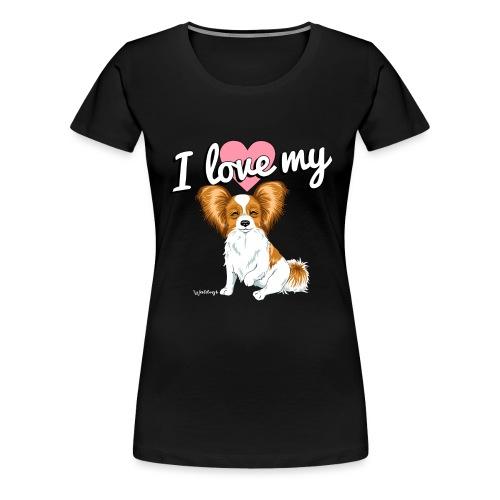 papilove3 - Women's Premium T-Shirt