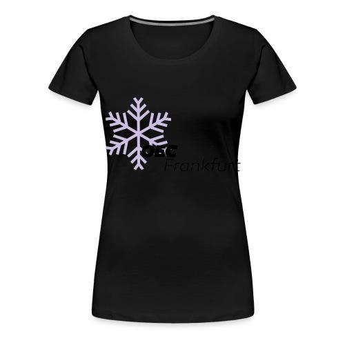 eiskristall shirt klein Farben kann man ändern - Frauen Premium T-Shirt