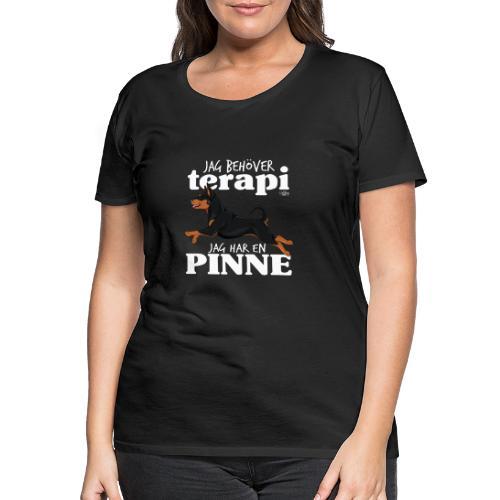 pinneterapi3 - Naisten premium t-paita