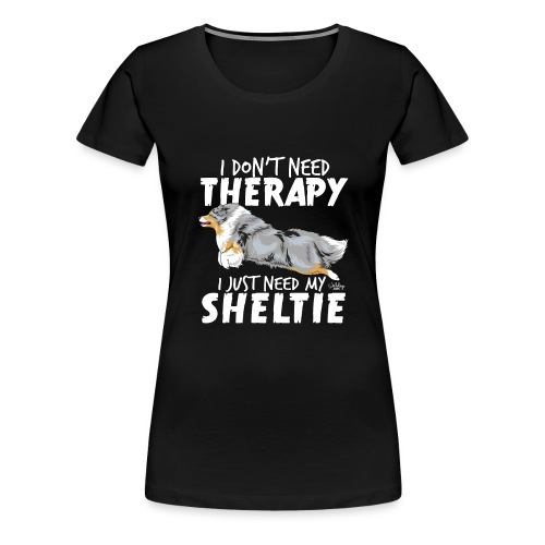 sheltietherapy4 - Women's Premium T-Shirt