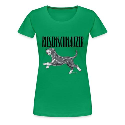Riesenschnauzer 01 - Women's Premium T-Shirt