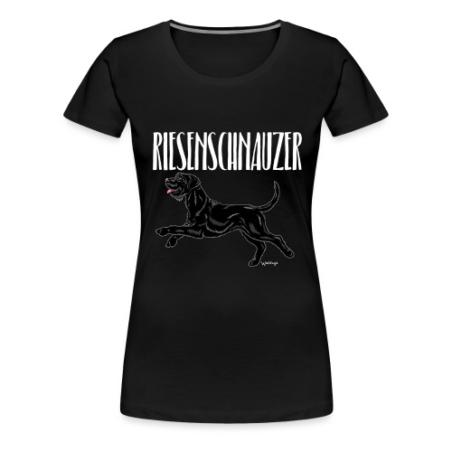 Riesenschnauzer 03 - Women's Premium T-Shirt