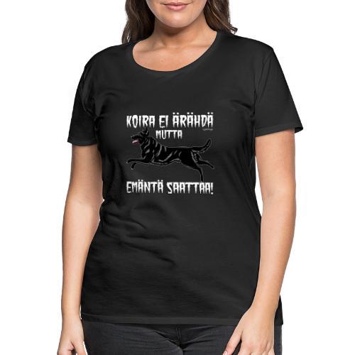Saksanpaimen Emäntä 3 - Naisten premium t-paita