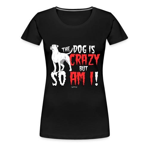 American Bulldog Crazy!2 - Women's Premium T-Shirt