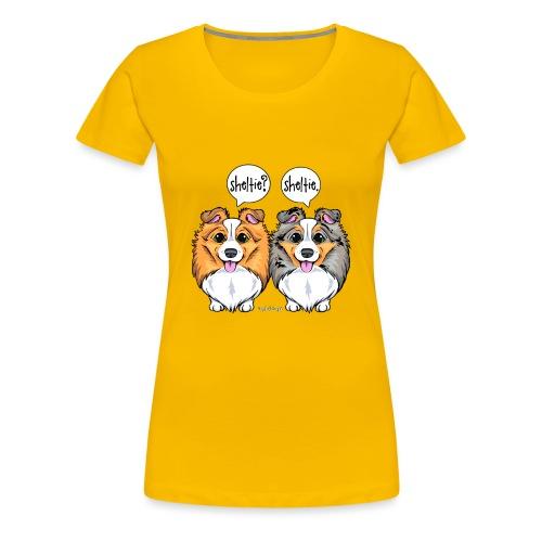 Sheltie Sheltie 3 - Women's Premium T-Shirt
