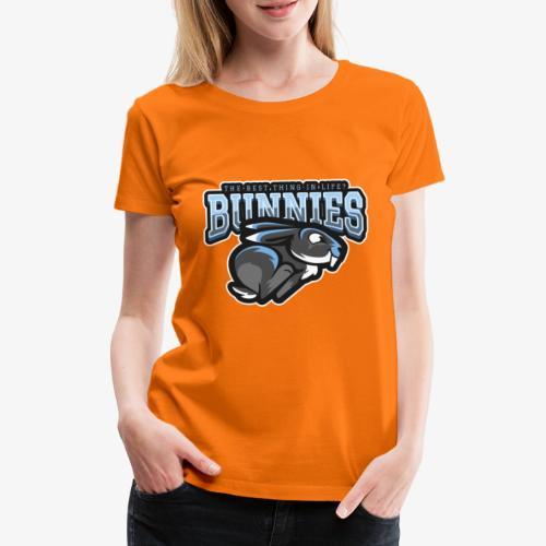 Best thing Bunnies - Naisten premium t-paita