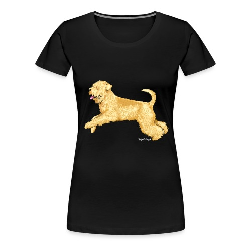 Wheaten Terrier 2 - Women's Premium T-Shirt
