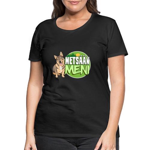 Vallhund Göötti Metsään - Naisten premium t-paita
