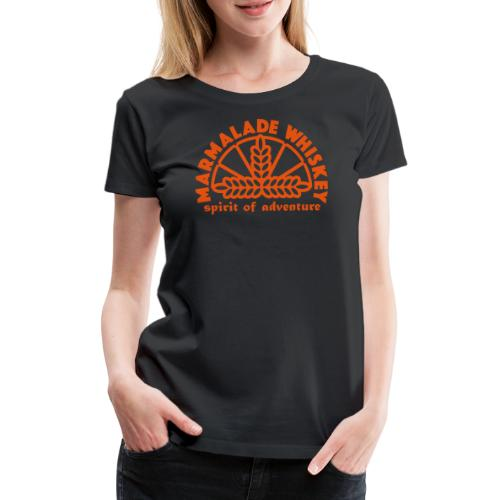 Marmalade Whiskey - Women's Premium T-Shirt