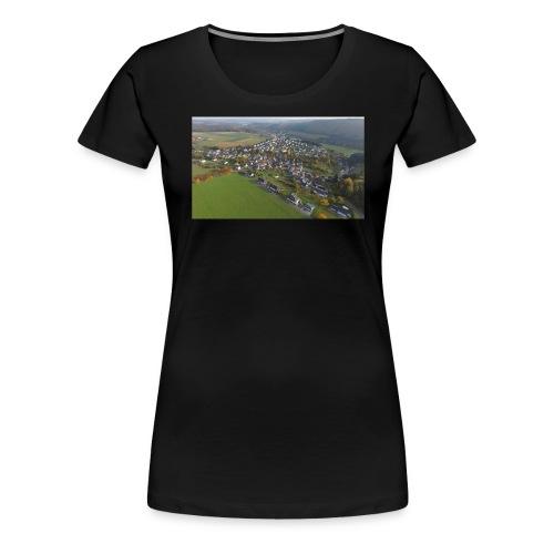 Luftbild Edelsberg - Frauen Premium T-Shirt