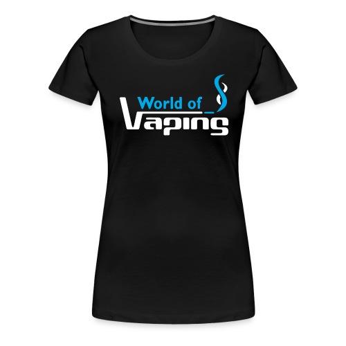 World of Vaping - Frauen Premium T-Shirt