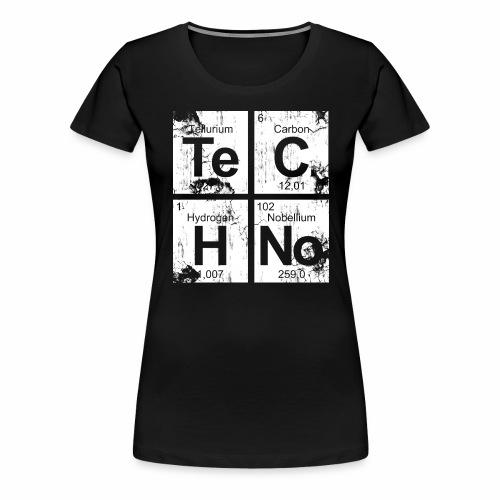 Dirty Techno Chemie - Frauen Premium T-Shirt