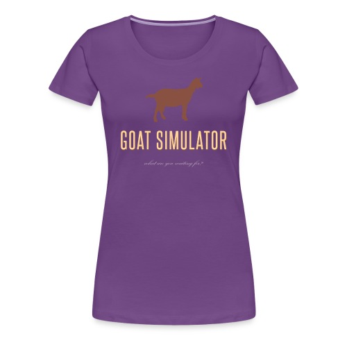 Goat Simulator - Women's Premium T-Shirt