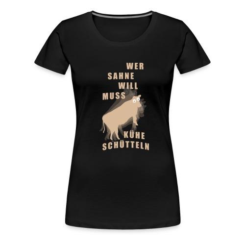 Sahne - Frauen Premium T-Shirt
