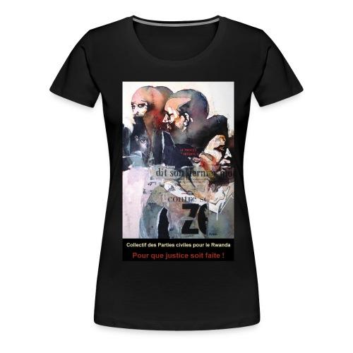 Collectif des Parties Civiles - T-shirt Premium Femme