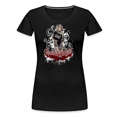 Sandra 1 - Frauen Premium T-Shirt
