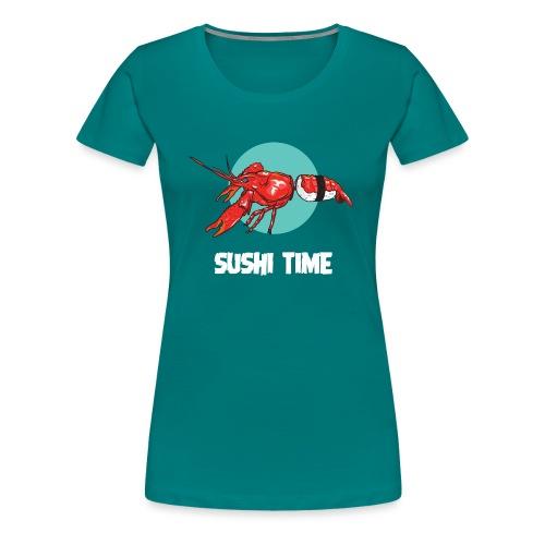 SUSHI TIME-gambero-b - Maglietta Premium da donna