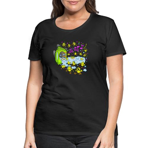 Chicks Foam Party - Women's Premium T-Shirt